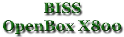 Biss openbox x 800