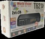 Как перепрошить Т2 приставку World Vision T62D