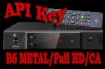 Ввод ключа API Key в спутниковый тюнер B6 METAL, B6 Full HD, B6 CA. uClan. (U2C). YouTube.