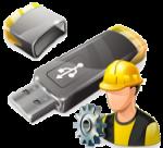 Восстановление USB флешки. (Transcend)
